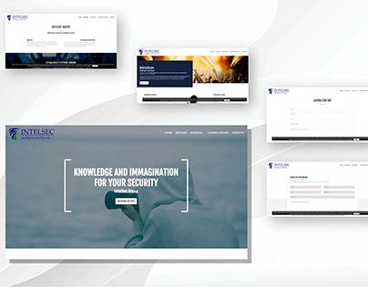 Realizzazione sito web www.intelsec.it