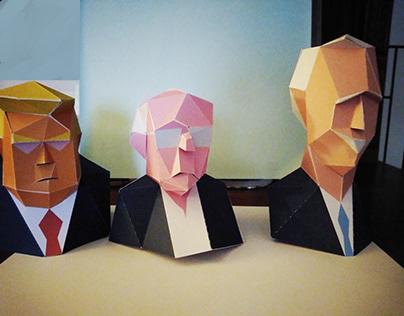 PaperCrat Bernie Sanders
