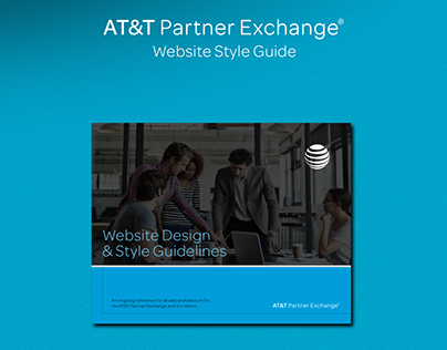 AT&T Partner Exchange UI Style Guide