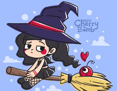 Cherry Bomb - Halloween