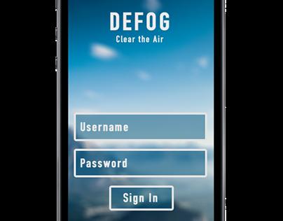 Defog Mobile App Design: Communication Styles Survey