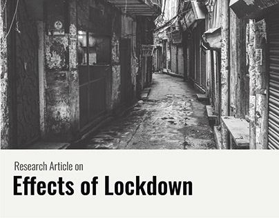 Research Article - Effects of Lockdown