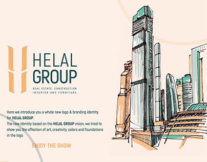 Helal Group rebranding identity