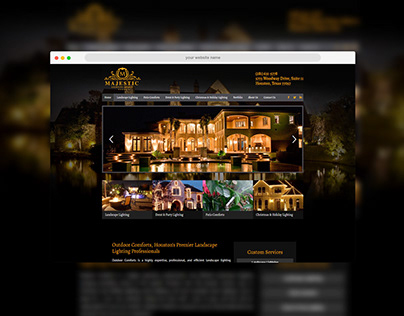 Classic Style Website