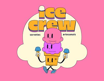 Ice Crew • Sorvetes Artesanais