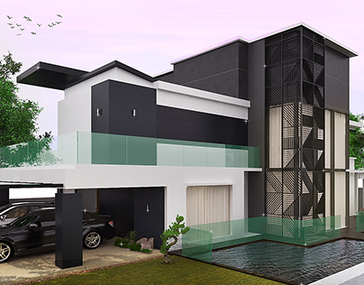 Exterior Visualisation   H House