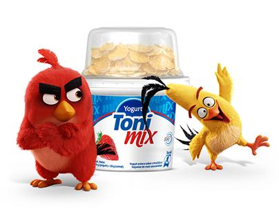 Toni Mix - Promo Angry Birds