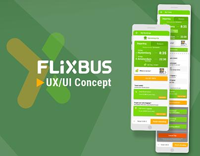 Flixbus - UX/UI Concept