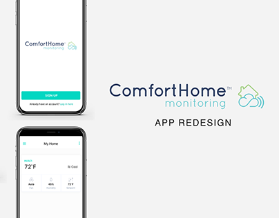 Home HVAC Monitoring App - Comfort Home Redesign