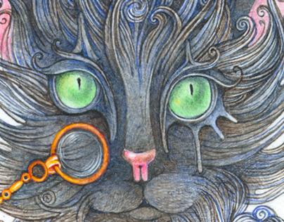 Мистер черный кот или мастер гипноза