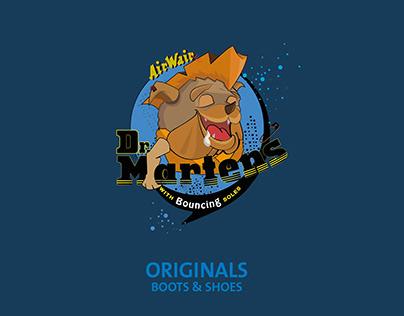 Character Design for Dr.Martens