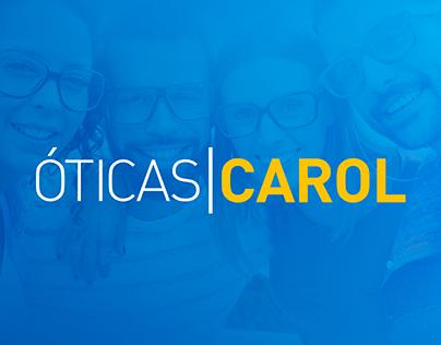 Portfólio Social Media - Óticas Carol