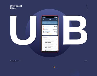 Universal Bank - iOS app