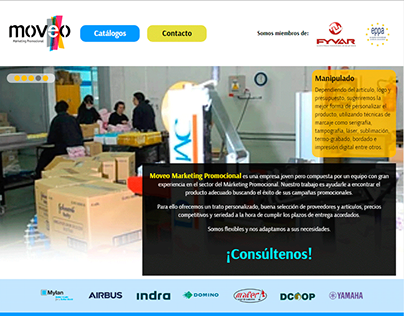 Moveo Webpage