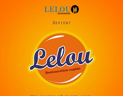 Rebranding LELOU Restauration