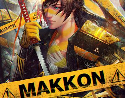 Makkon poster design