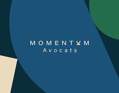 Momentum Avocats - branding