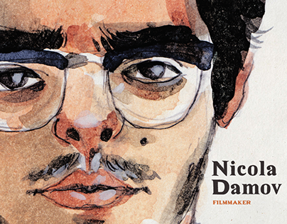 Nicola Damov / Portrait Illustration
