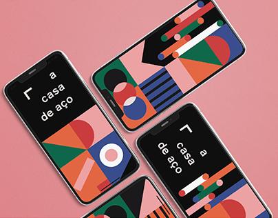 Identidade Visual | A Casa de Aço