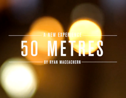 A New Experience - 50 metres