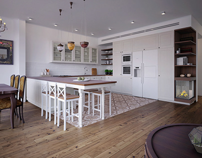 Classic Modern House with Homemade Furniture, Israel