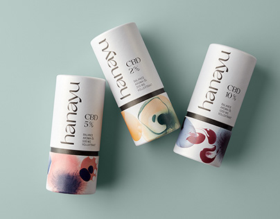 hanayu, Branding & Packaging for a CBD brand