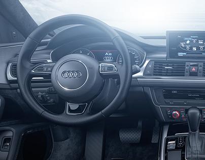 Audi A6 Interior - Full CGI