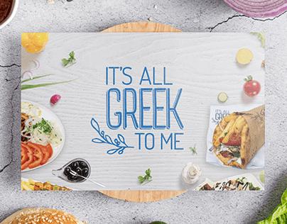 Greek Souvlaki Restaurant Menu