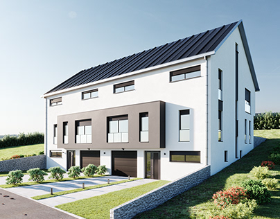 Residential House in Luxembourg - Lot 33 & 34 | CGI