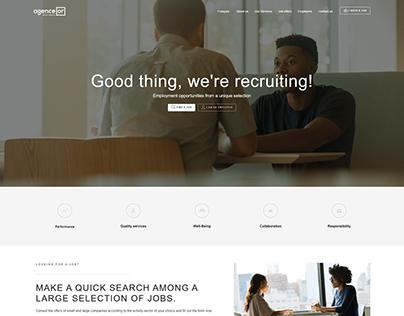 Agence Or (Logo & Site Web)