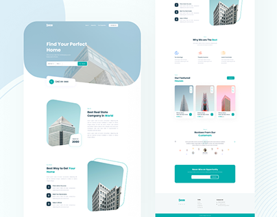 Daas Real Estate Website Design