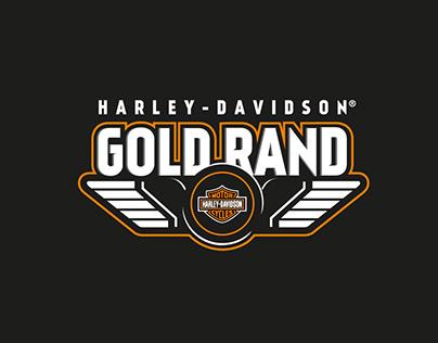 Harley-Davidson Gold Rand Logo