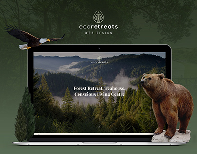 UI/UX Web Design - Eco Natural Resort