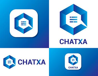 C Letter Chat App Logo