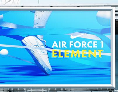NIKE : AIR FORCE 1 ELEMENT