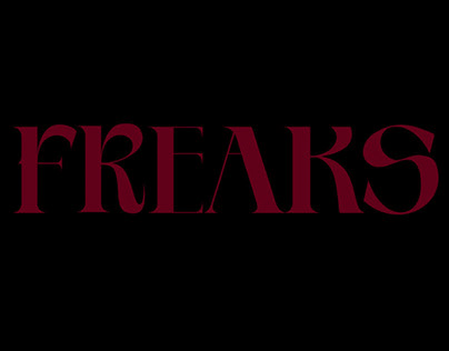 FREAKS — couture collection and video