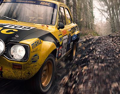 Escort Mk1 Classic Rally