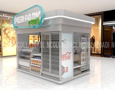 01/2018 Design Outdoor Conveinence Kiosk - PANAMA