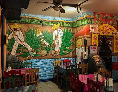 Mural - El Trompo Restaurant