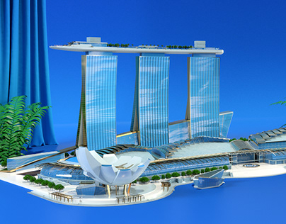 MARINA BAY SANDS 'EASY MEETING GREEN'