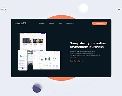 LenderKit marketing website