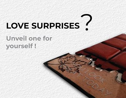 Experience Design : Chocolaty Surprise