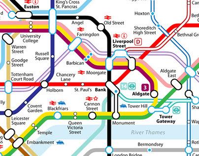 Alternative 2015 Tube Map Design