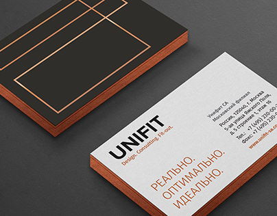 UNIFIT / Design. Consulting. Fitout.