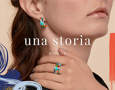 Una Storia . Branding & Artistic direction