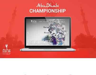 AbuDhabi Championship website