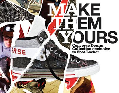 Converse/Foot Locker –Make Them Yours