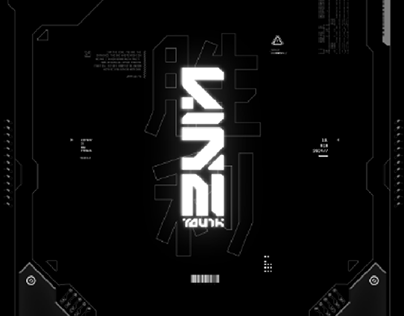 Cyberpunk background & lockscreen