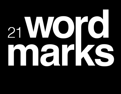 21 wordmarks