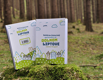 Book design _Cultural and historical guide Dolny Liptov